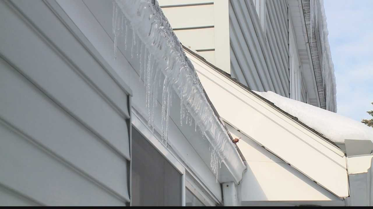 Homeowners and handymen may be busy Saturday trying to prevent ice dams and leaks.