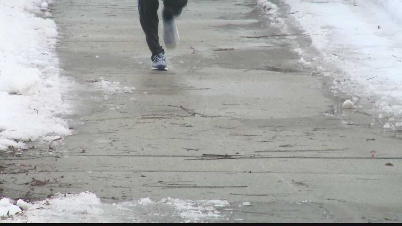 Temperatures up but some areas still icy
