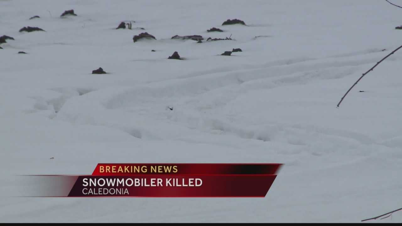 Racine county medical examiner called to scene of snowmobile accident
