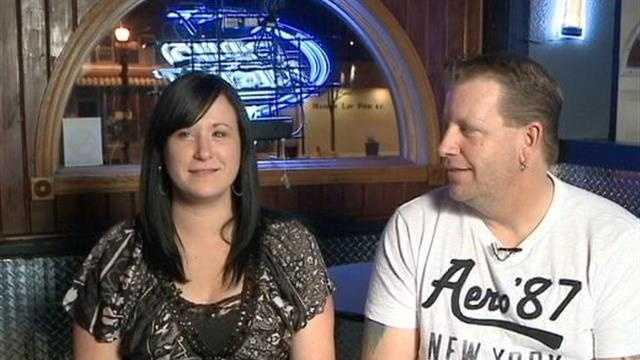 Couple explains stun-gun bet and arrest
