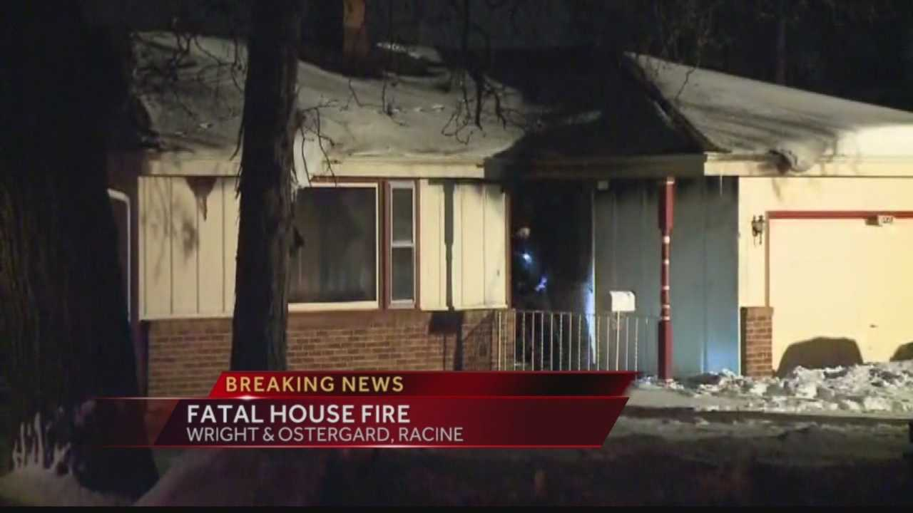 Racine firefighters confirm one person died in a fire that broke out late Tuesday night.  WISN 12 News' Ben Hutchison reports from the scene.