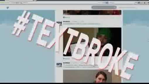 Textbook hashtag