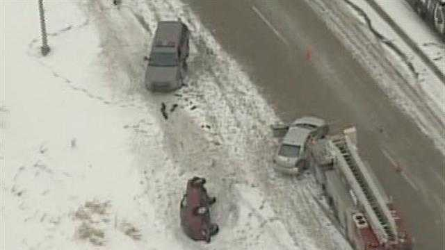 whole crash scene