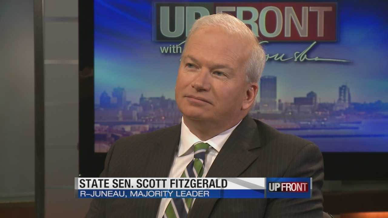Republican Senate Majority Leader Scott Fitzgerald says the Senate will tweak the governor's plan for big property and income tax cuts so the structural deficit won't be as large.