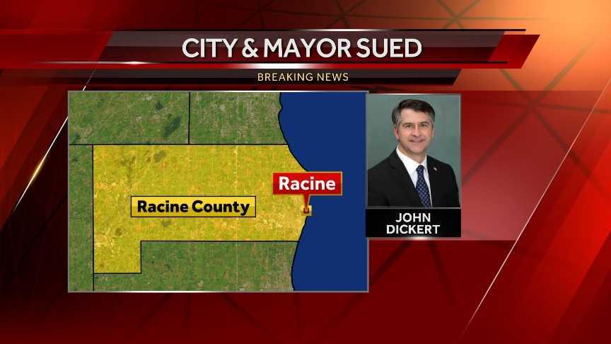 Racine Civil Lawsuit pic map