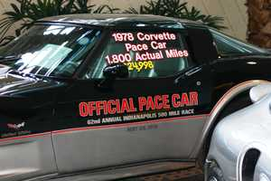 1978 Corvette Pace Car-Al Unser won in the 1st National City Travelers Checks car.