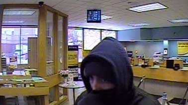 Shorewood bank robber