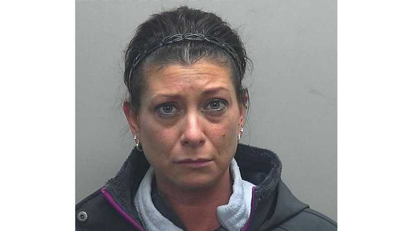 Kimberly Fidlin, charged in late February with 1 felony and 5 misdemeanors after her dog was found dead and frozen inside her foreclosed home in Cascade.