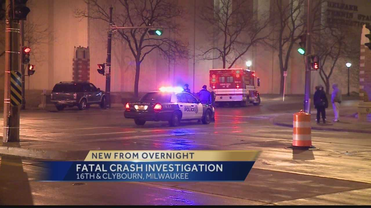 A man has died after suffering a medical condition and crashing into a statue on the Marquette University campus.