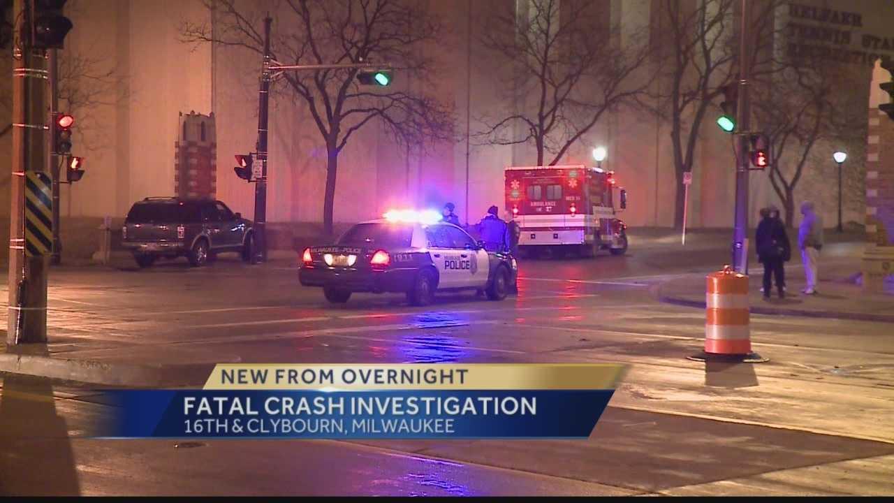 Man dies after crash on Marquette campus