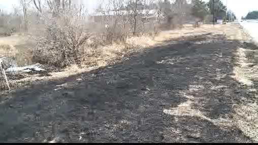Hartland grass fire scene