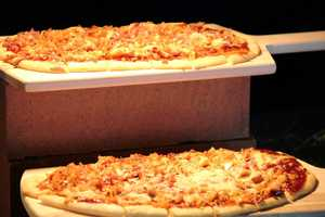 There are new foods including these flat bread pizzas.