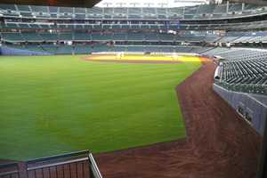 Same great view of the field.