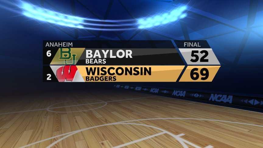 Badger Final score