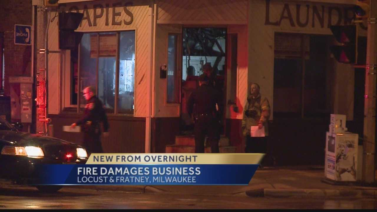Fire reported at Milwaukee laundromat