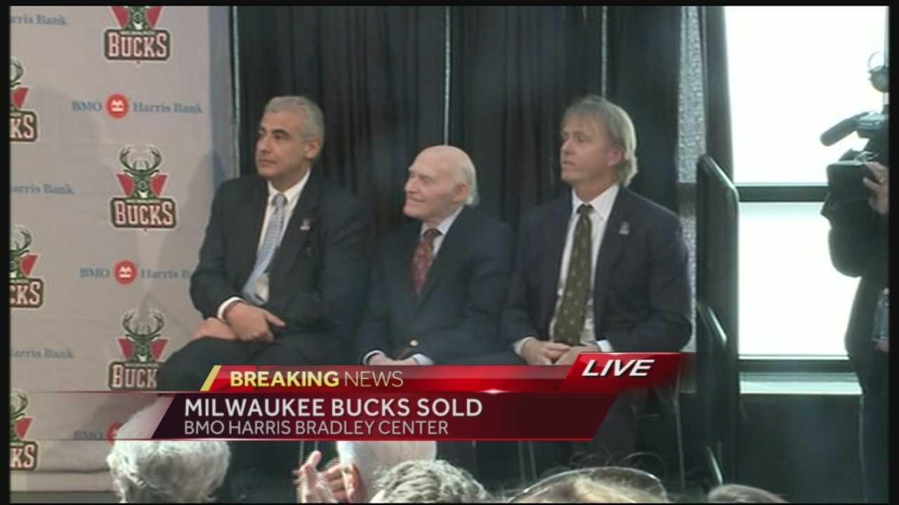 Milwaukee Bucks announce sale of team