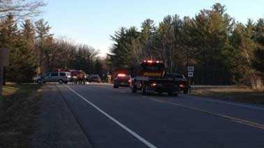Portage County crash scene