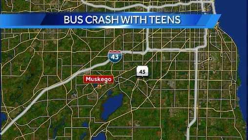 bus crash map