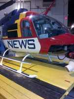When NewsChopper 12 isn't covering breaking news, or your morning commute, it rests at Milwaukee's Timmerman Airport.