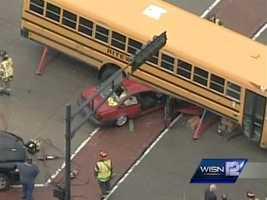It is a Riteway bus serving John Long Middle School.