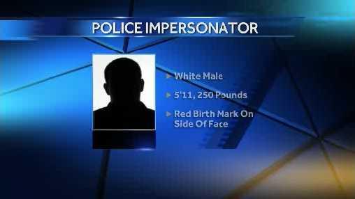 Racine police impersonator