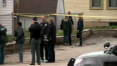 Madison shooting scene