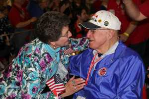 Originally only available to WWII vets, Stars and Stripes Honor Flight now includes Korean War vets as well as terminally ill vets of any conflict.