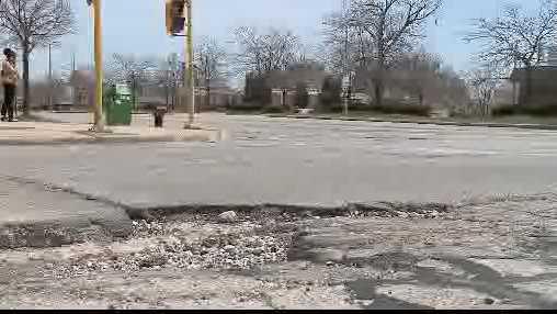 May pothole