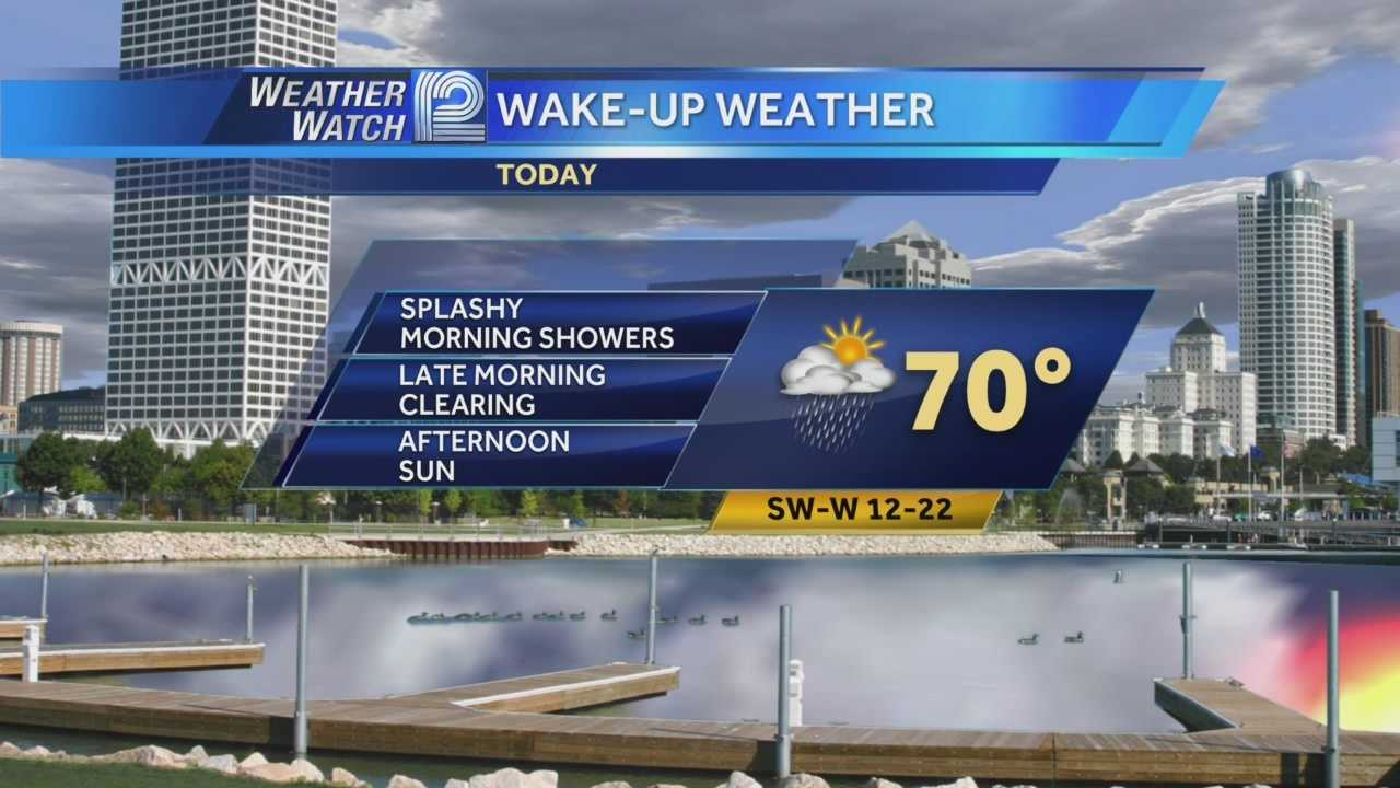Wisconsin missed out on severe weather overnight... and the clouds will part later this afternoon