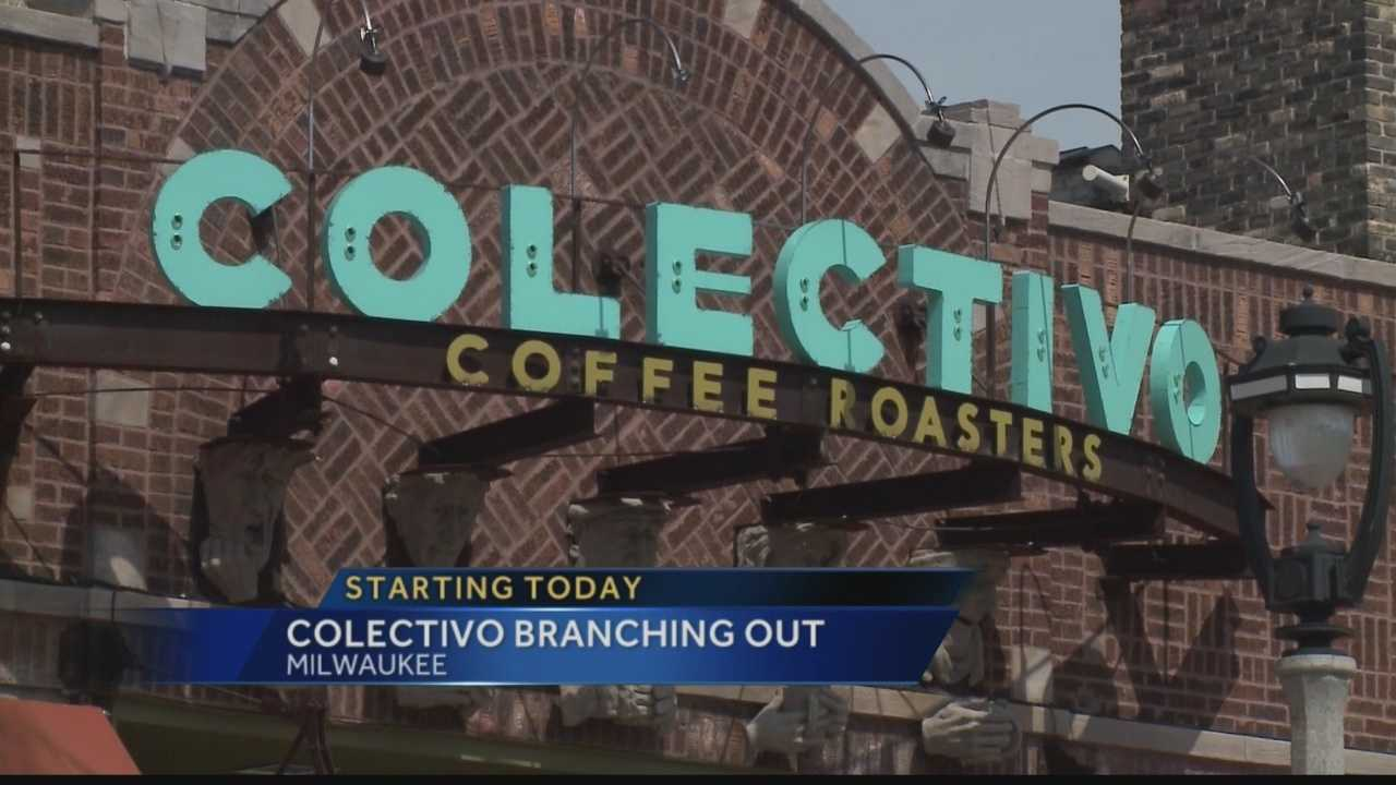 Colectivo Coffee is opening a new location in Milwaukee's Third Ward, and launches a new bakery brand.  WISN 12 News' Thema Ponton reports.