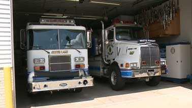 Silver Lake fire trucks