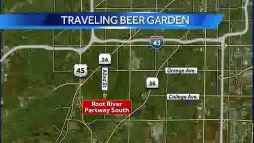 beer garden map
