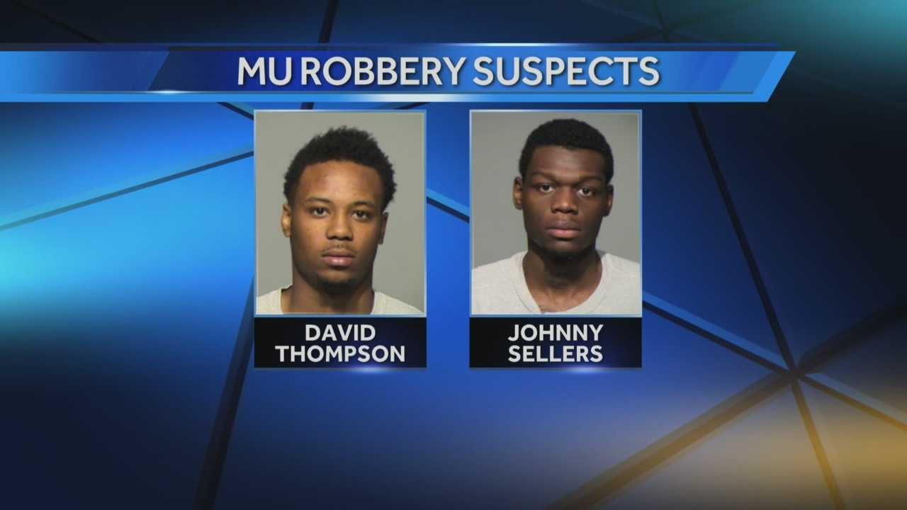 MU Robbery suspects plead not guilty
