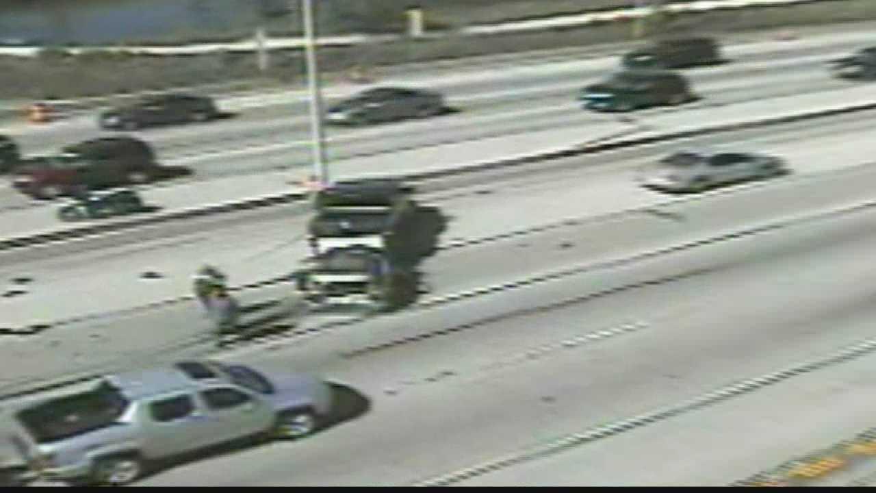 Crash closes lanes of I-94 at Moorland road in Brookfield
