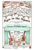 Ayre in the Square at Catalano Square in Milwaukee's Historic Third Ward.Thursdays June 19 - Sept 11http://www.historicthirdward.org/events/ayreinthesquare.php