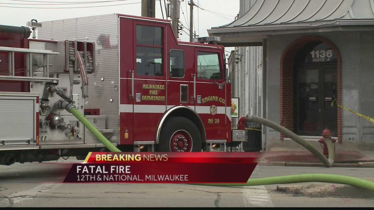 Man dies in South Side Milwaukee fire