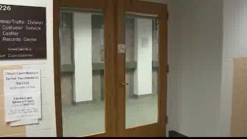 Waukesha court door