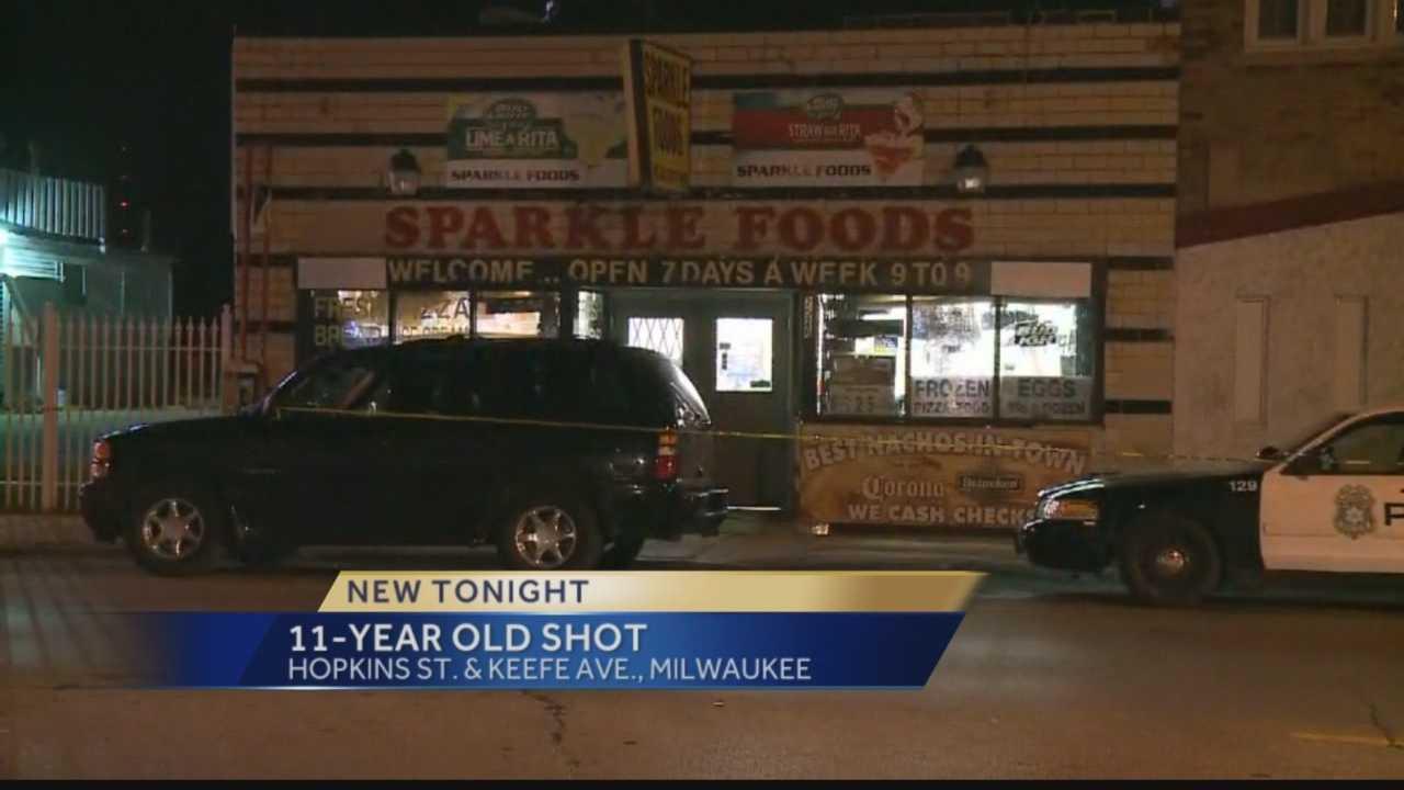 Eleven year old girl shot on Milwaukee's Northwest side