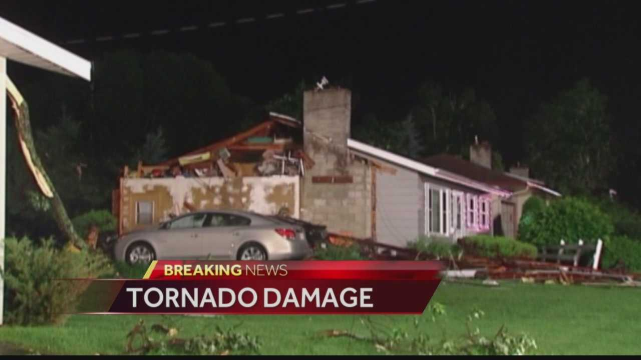 Heavy storm damage in Verona, Platteville