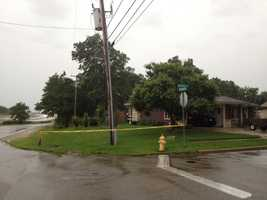 Wires down at Silvernail and Sussex, Waukesha