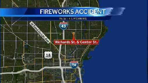Fireworks ax map