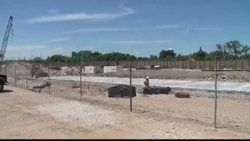 construction near State Fair