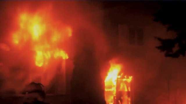 5 teen girls escape Sheboygan fire