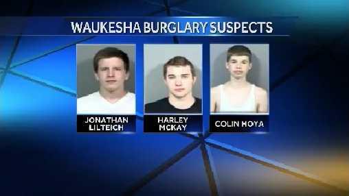 3 Waukesha burglary suspects