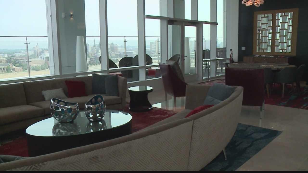 Inside the new Potawatomi Hotel