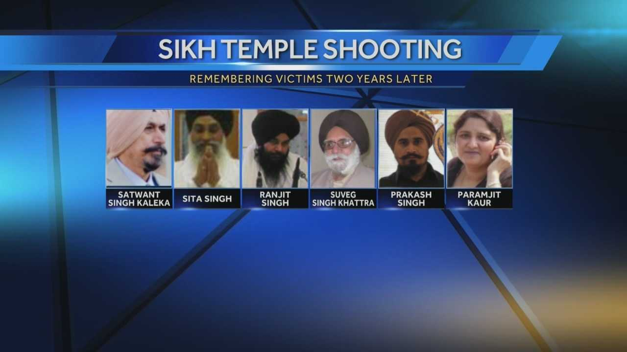The Sikh Temple of Wisconsin will mark two years since a deadly shooting in Oak Creek.