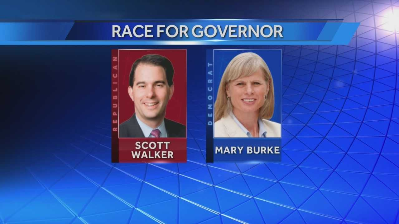 Burke talks after primary victory&#x3B; Walker holds campaign rally