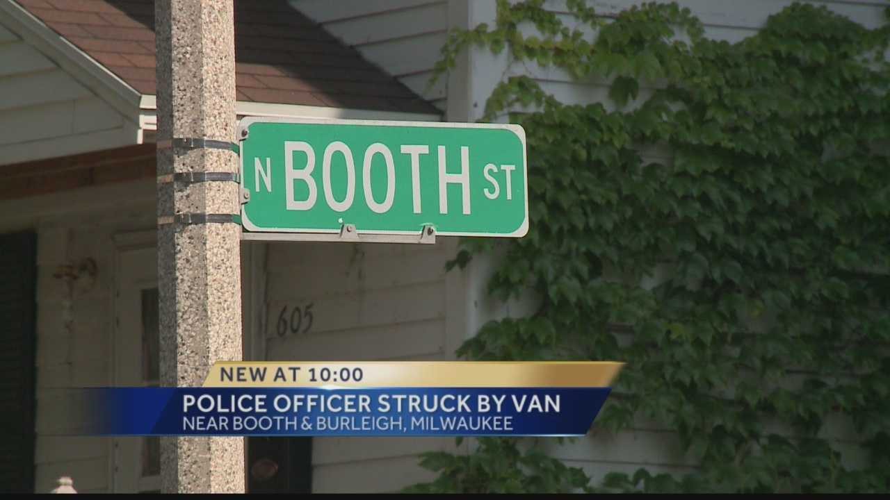 Officer hit by teens in stolen vehicle