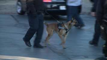 Other area K9s also attended