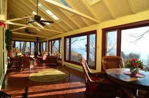 With an incredible view of Lake Michigan, this house, built in 1900, has more than 5,100 square feet of living space, with six bedrooms and five baths. It's currently listed at $1.3 million. For more information on this property, click here.